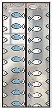 Magn/étique Moustiquaire Net Mesh,MUTE Anti-mosquito Auto-adh/ésif Plein cadre Heavy duty Window Filet Moustiquaire Rideau-C 90x120cm 35x47inch