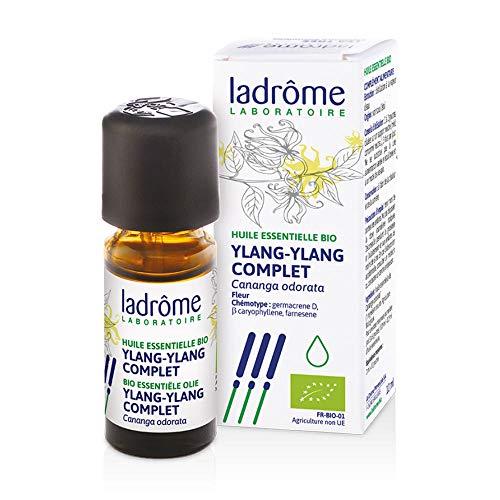 Ladrôme Huile Essentielle Ylang Ylang Complet (Cananga odorata) Bio 10 ml