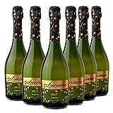 Don Luciano Brut Moscato - Charmat Moscato Blanco - Caja de 6 Botellas x 750 ml