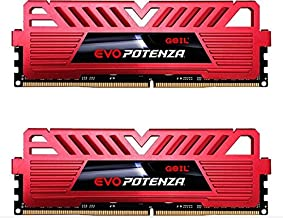 GeIL 16GB (2 x 8GB) EVO Potenza DDR4 PC4-24000 3000MHz 288-Pin Desktop Memory Model GPR416GB3000C16ADC