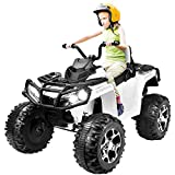 Kuntai Electric Kids ATV, 12V Battery Powered Kids 4-Wheeler ATV Quad,...