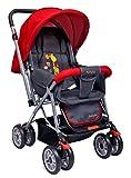Little Pumpkin - Kiddie Kingdom Baby Stroller and Pram for Baby/Kids (Red)