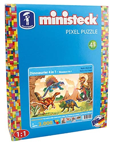 Ministeck 31799 - Dinosaurier 4in1, ca. 2.000 Teile