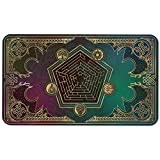 Paramint Mana Blast(Stitched) - MTG Playmat - Perfect for Magic The Gathering, Pokemon, YuGiOh, Anime - TCG Card Game Table Mat - Durable, Thick, Cloth Fabric Top with Rubber Bottom by Daniel Ziegler