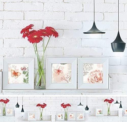 Rodnik Küchenrückwand - 300 cm - Spritzschutz - Wanddeko - Verschiedene Designs - DIREKTDRUCK(Rote Gerbera)