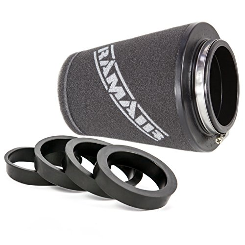 Ramair Filters CC-296-UNI Universal Neck Performance Cone Luchtfilter met reducerende ringen