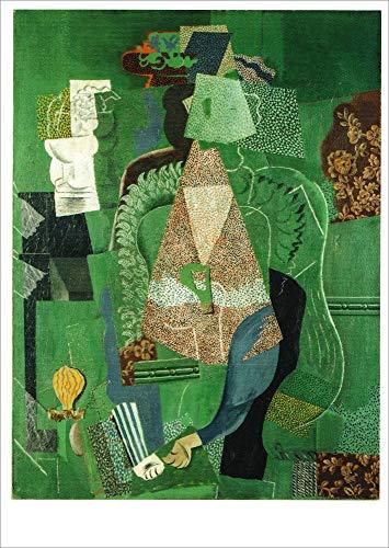 """Kunstkarte Pablo Picasso""""Portrait de jeune fille"""""""