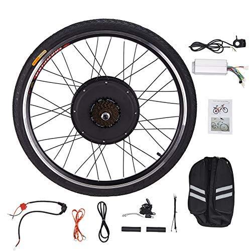 "Sfeomi Elektrisches 26"" 48V 1000W Fahrrad-Umbausatz E-Bike Conversion Kit Elektro-Fahrrad Kit Hinterrad Elektrofahrrad Motor Umbausatz Hinterrad (Hinterrad)"