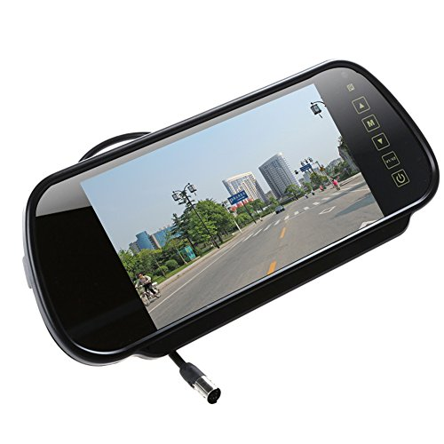 7'' Digital TFT LCD Color HD Car Rear View Mirror Monitor with 2AV input...