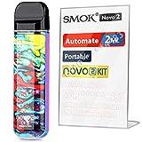 SMOK Novo 2, E Cigarettes Vape Starter Kit, Portable Refillable Pod System 2ml