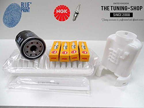 Premium Service Kit 1.3 87hp 03–05 Version Française Air Cabine fioul filtres et Spark Plugs NEUF