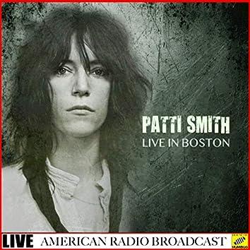 Patti Smith - Live In Boston (Live)
