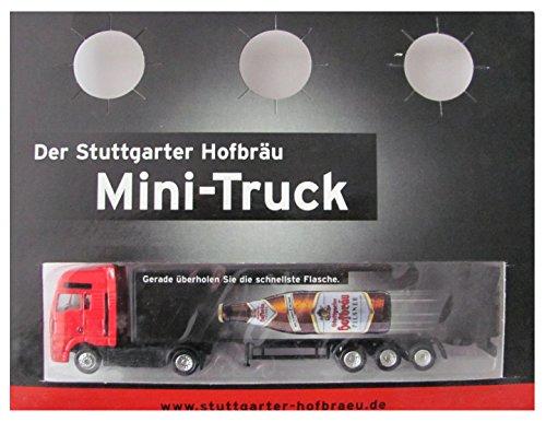 Stuttgarter Hofbräu Nr.09 - Gerade überholen Sie die schnellste Flasche - MAN TG-A - Sattelzug
