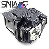 Snlamp ELPLP96 / V13H010L96 交換用プロジェクターランプ 電球ハウジング付き、EPSON PRO EX9210 / PRO EX9220 / PRO EX7260 / EX9210 EX9220 EX3260 EX5260 VS250 VS350 VS355 プロジェクター用