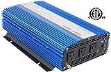 AIMS Power 1500 Watt, 3000 Watt Peak, Pure Sine DC to AC Power...