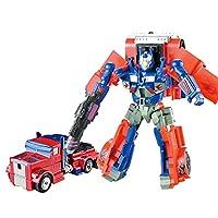 トランスフォーマーおもちゃ、変換ロボットオプティマスプライムスーパーメガトロントランスフォームカーアクションフィギュアおもちゃ子供用ギフト - 10インチ