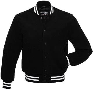 Best black and white varsity jacket Reviews