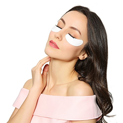 100 Pairs- Eyebeautiful Brand Eyelash Extension Lint Free Under Eye GEL Pad Patches