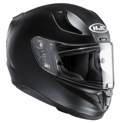 HJC Motorradhelm, Mattschwarz, Größe XL