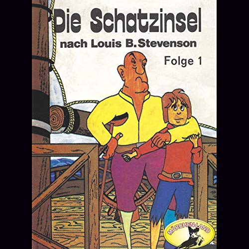 Die Schatzinsel 1 audiobook cover art
