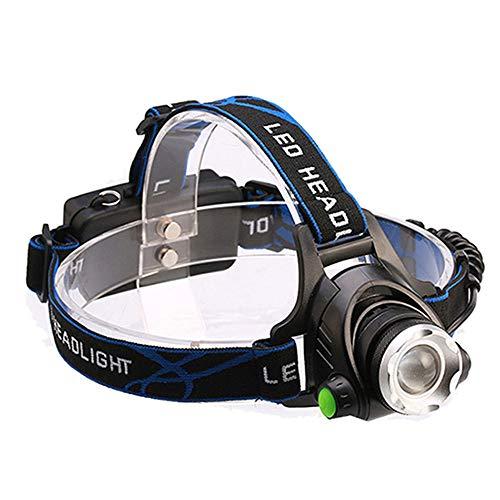 WPCBAA IR LED projector XM-L2 Micro USB oplaadbare koplamp waterdicht hoofdlamp hoofdlamp 18650 vis LED
