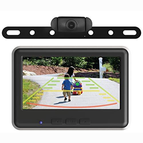 EchoMaster - Wireless Backup Camera and Color Monitor Kit - Black backup Cameras Vehicle