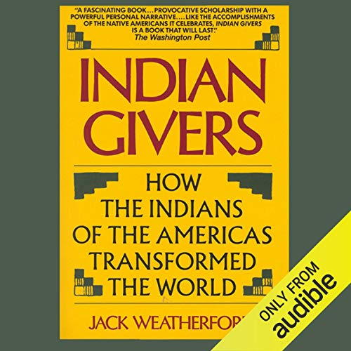 Indian Givers audiobook cover art
