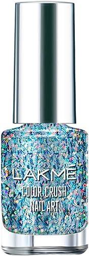 Lakme Color Crush Nail Art T2, Multicolor, 6 ml