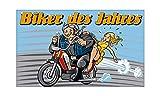Biker des Jahres Fahne (V22) - 90x150cm