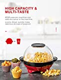 Zoom IMG-2 aicook macchina popcorn 5l per