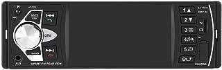 Qiilu 4,1 cala radio samochodowe HD Bluetooth odtwarzacz MP5 wideo FM radio AUX TF USB pilot zdalnego sterowania (z kamerą)