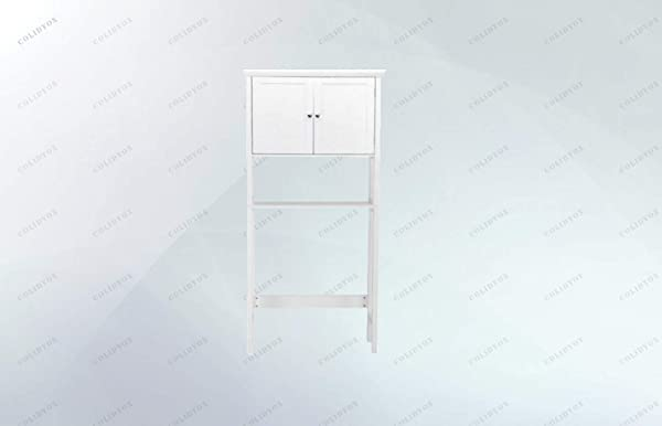 COLIBROX Over The Toilet Bathroom This Toilet Rack Is Made Of P2 MDF And Pine Which Is Sturdy And Durable And The Paint We Use Is Moisture Proof And Environmental Friendly Particular