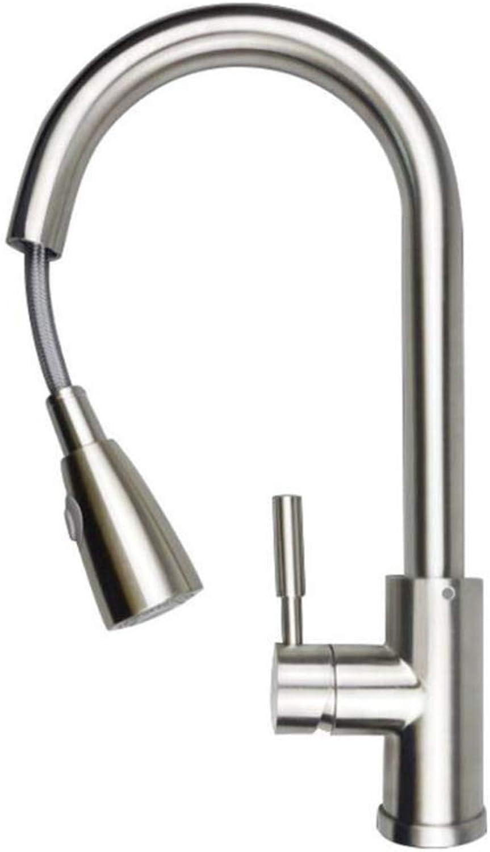 Angezogen werden 304 Edelstahl heies und kaltes Wasser Zeichnung Wasserhahn spinnbar Spülbecken Dishpan Rohr Wasserhahn