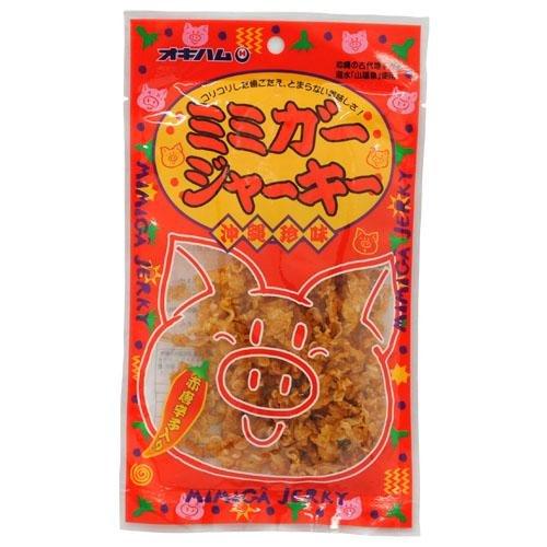 沖縄ハム(オキハム) ミミガージャーキー 23g×30袋