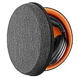 Geekria Funda para Auriculares Sony MDR 7506, V6, 700, 750, 770, 880, 900, 1A, Z7, 950BT and More, Estuch Rígido de Transporte, Viaje Bolsa