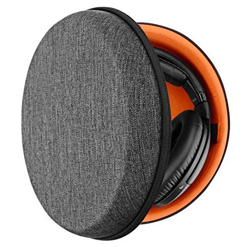 Geekria UltraShell Étui pour Casque pour Casque Sony MDR 7506, V6, 700, 750, 770, 880, 900, 1A, Z7, 950BT Headphones, Housse de Protection Rigide de Remplacement pour Voyage