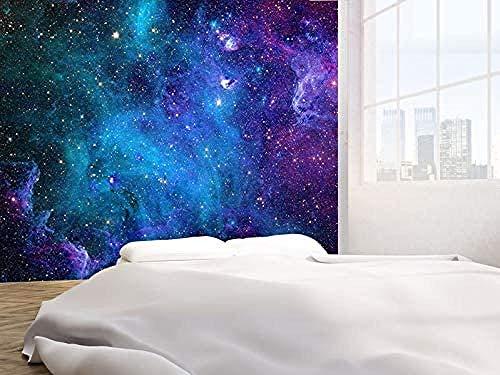 Galaxy Stars Abstract Space Photo Wallpaper Mural de pared 300cmx210cm(118.1x82.7inch)