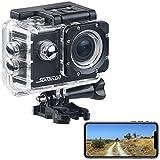 Somikon Azione Telecamera: Action Cam UHD DV-3717 con WLAN, Sensore di Immagine e App Marken, IPX8 (4K Azione Camera)