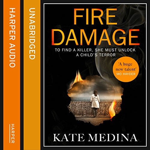 Fire Damage audiobook cover art