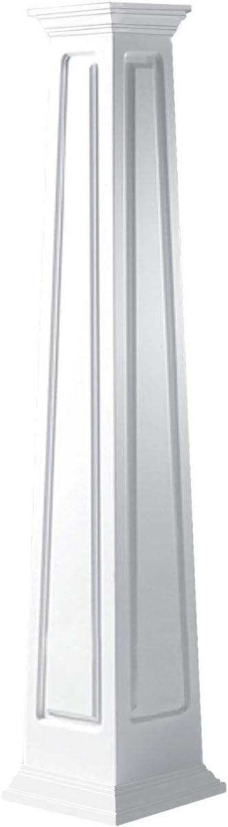 Ekena Jacksonville Mall Millwork CC1005ETRCRCR Outlet ☆ Free Shipping Column White