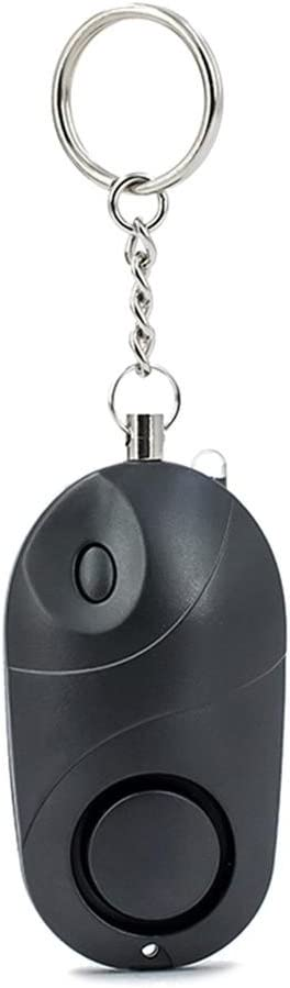 iShine Personal Alarm Keychain 130db Mini Security Safety Alarm Systerm Self Defense Emergency Alarm Keyring with Torch for Women Elderly