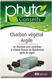 Yves Ponroy Charbon Végétal Argile Multi-Vitamines/Minéraux 60 Gélules