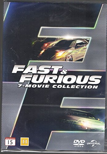 Fast & Furious 1-7 [DVD] ( Nordic Import )
