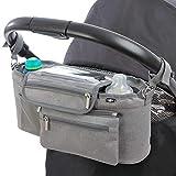 BTR - Bolsa para bebe para carrito de bebé con bolsillo desmontable con...