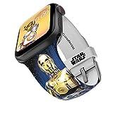 Star Wars - Correa para reloj inteligente Droids - Licencia oficial, compatible con Apple Watch (no...