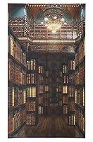 マルチタペストリー のれん ライブラリー(OLD LIBRARY)サイズ W85cm×H180cm BR ロングタイプ