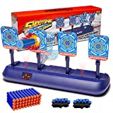 Electronic Shooting Target for Nerf Guns, Scoring Auto Reset Digital Nerf Targets Toy, Ideal Gift Toy for Kids, Teens, Boys & Girls(2020 Update Version)