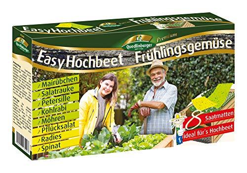 Quedlinburger 2943100 Easy Hochbeet Frühlingsgemüse (Gemüsesamen)