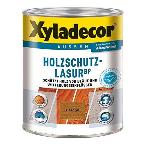Xyladecor BP 2in1 Holzschutzlasur Dünnschicht-Lasur 1 Liter, Farbe:Tannengrün