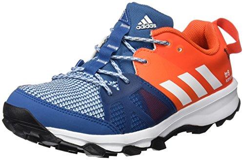 Adidas Unisex-Kinder Kanadia 8 K Laufschuhe, Mehrfarbig (Azubas/Ftwbla/Energi), 32 EU